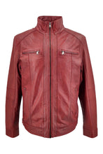 Load image into Gallery viewer, 51540 - Lamb Copper Leather - Man - Red | STAMPE PELS