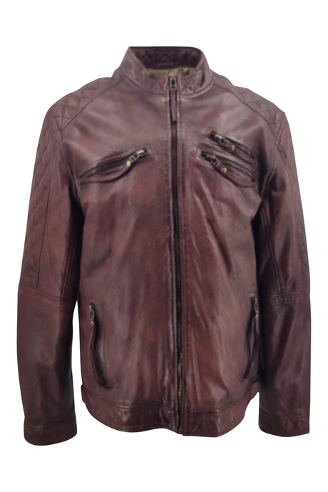 Di Caprio - Lamb Leather - Man - Cacao | STAMPE PELS