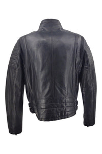 Terminator - Lamb Bakwass Leather - Man - Black | STAMPE PELS