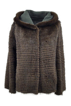 Load image into Gallery viewer, 15005B Wool, 60 cm. - Mink & Wool - Women - Dark Green / Mink Pels - Levinsky - Kvinde | STAMPE PELS