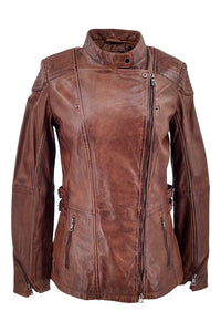 Floyd - Lamb Copper Leather - Women - Brown | STAMPE PELS