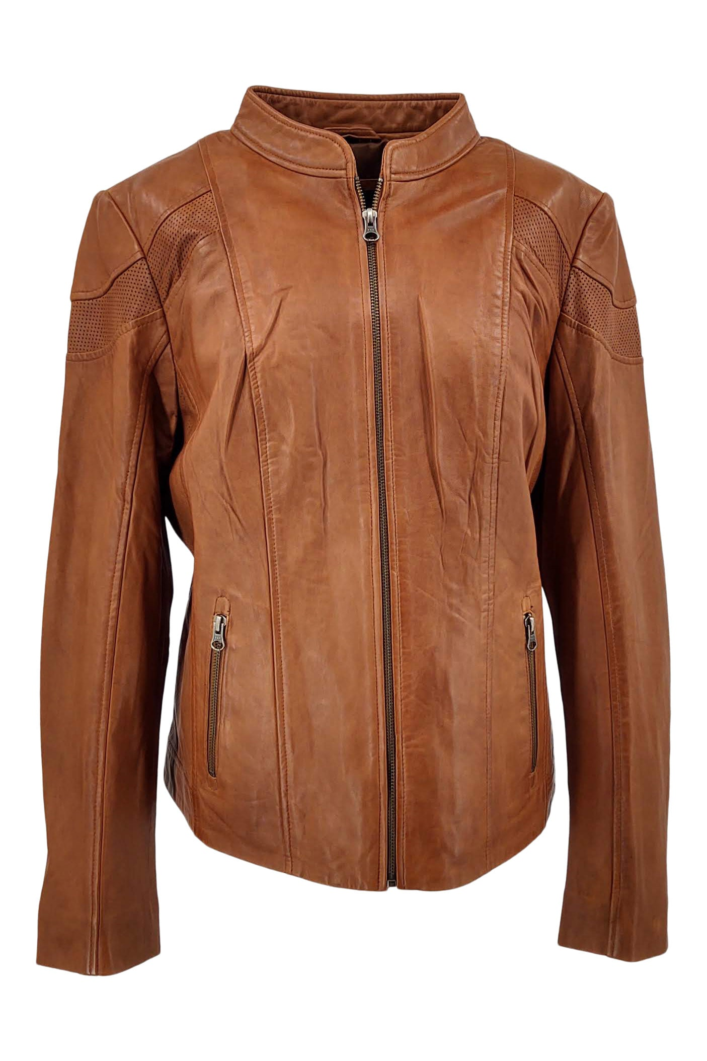Gattie - Lamb Glove Leather - Women - Tan | STAMPE PELS