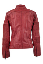 Load image into Gallery viewer, Ridle - Lamb Boss Leather - Women - Red | STAMPE PELS
