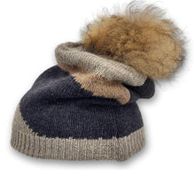 Load image into Gallery viewer, WDS. 105/P Hat - Knitted Yarn - Accesories - Grey (Hue) | STAMPE PELS