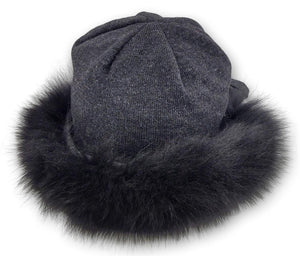 WDS. 218 Hat - Textile - Accesories - Grey (Hue) | STAMPE PELS