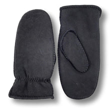 Load image into Gallery viewer, ZXM-040 Mitten - Suede Lamb / Ruskindsluffe - Accesories - Black | STAMPE PELS