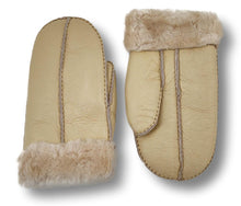 Load image into Gallery viewer, ZXM-159 Mitten - Suede Lamb / Ruskindsluffe - Accesories - Pearl Brown | STAMPE PELS