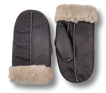 Load image into Gallery viewer, ZXM-159 Mitten - Suede Lamb / Ruskindsluffe- Accesories - Black | STAMPE PELS