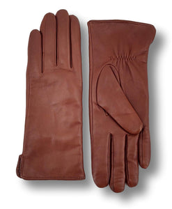 Z-1601 Plain Glove - Leather / Skindhandske - Accesories - Whisky | STAMPE PELS