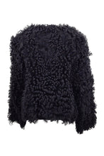Load image into Gallery viewer, Chanel / HM-9 - Curly Lamb - Women - Black | STAMPE PELS