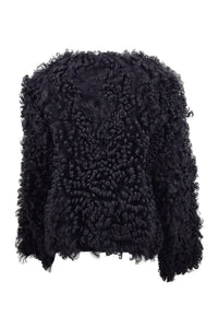 Chanel / HM-9 - Curly Lamb - Women - Black | STAMPE PELS