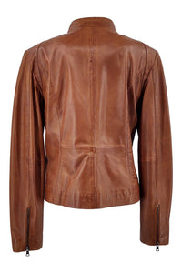 Tracy 2 - Lamb Glove Leather - Women - Tan | STAMPE PELS