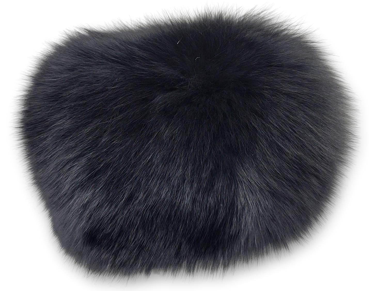 MFN 085 Hat - Fox - Accesories - Black (Hue) | STAMPE PELS
