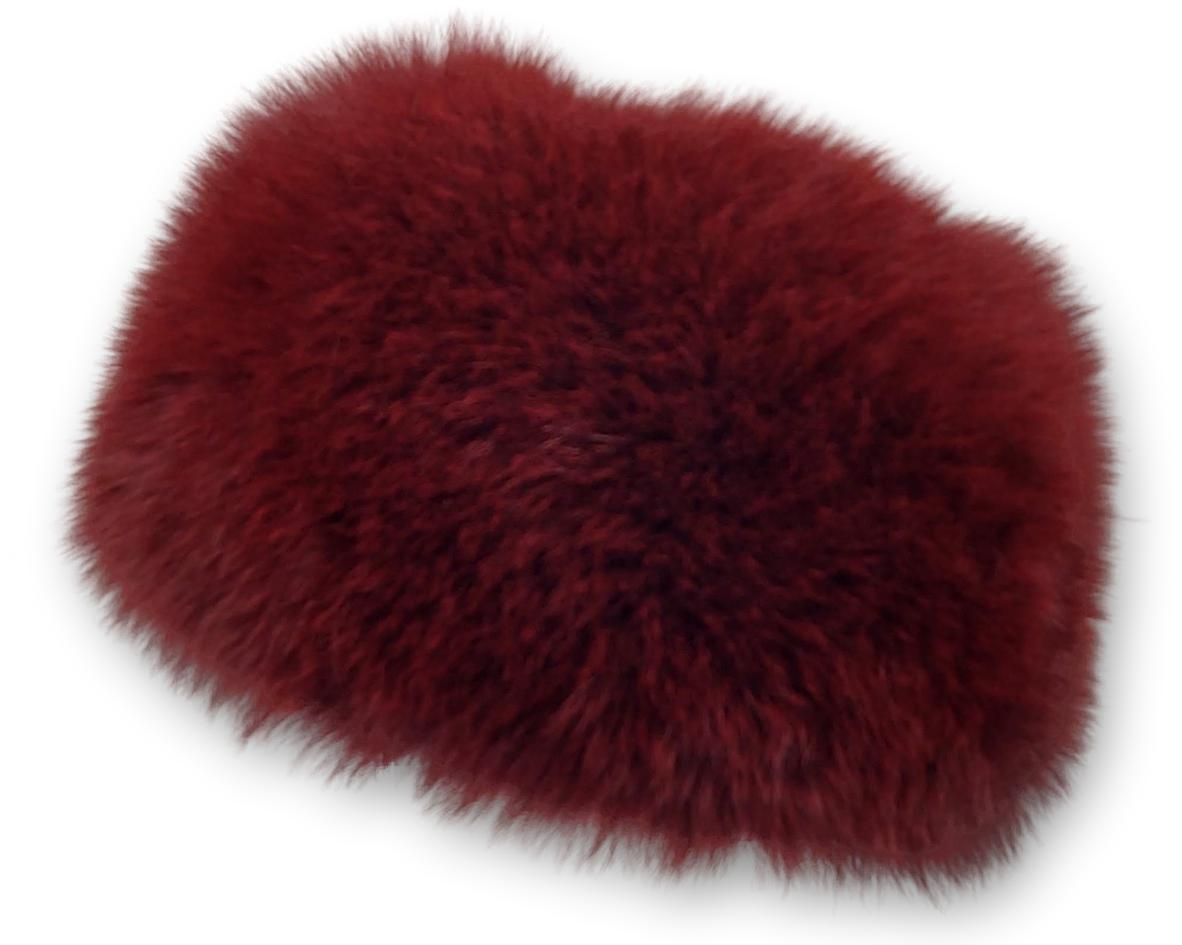 MFN 086 Hat - Fox - Accesories - Wine (Hue) | STAMPE PELS