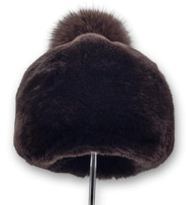 536-1162/03 Hat - Rex - Women - Brown (Hue) | STAMPE PELS