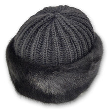 Load image into Gallery viewer, 632-683/02-002 Hat - Mink - Accesories - Black (Hue) | STAMPE PELS