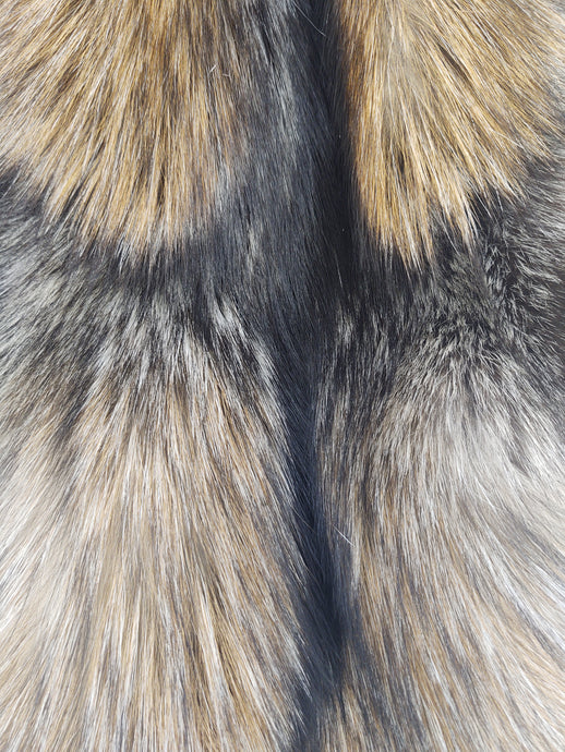 Golden Cross Fox - Dressed Fur Skin - Fur | STAMPE PELS