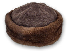 Load image into Gallery viewer, Jersey Hat - Mink - Accesories - Brown (Hue) | STAMPE PELS