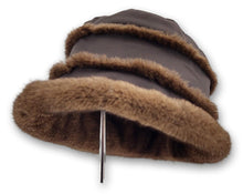 Load image into Gallery viewer, Micro Hat - Mink - Accesories - Brown (Hue) | STAMPE PELS