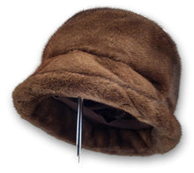Load image into Gallery viewer, Hat - Mink - Accesories - Brown (Hue) | STAMPE PELS