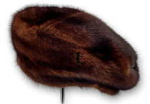 Load image into Gallery viewer, 710-83/05 Hat - Mink - Accesories - Mahogany | STAMPE PELS