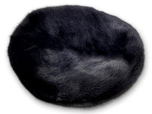 Load image into Gallery viewer, 710-83/002 Hat - Mink - Accesories - Black (Hue) | STAMPE PELS