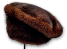 Load image into Gallery viewer, 510-33-83, Hat - Mink - Accesories - Brown | STAMPE PELS
