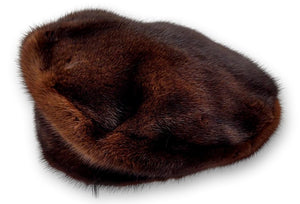 510-33-83, Hat - Mink - Accesories - Brown (Hue) | STAMPE PELS