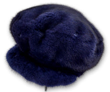 Load image into Gallery viewer, 602-83/21 Hat - Mink - Accesories - Blue | STAMPE PELS
