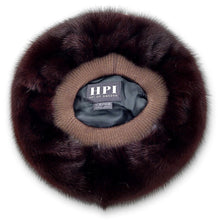 Load image into Gallery viewer, Hat 709-83 - Mink - Women - Mahogany (Hue) | STAMPE PELS