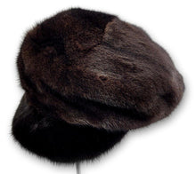 Load image into Gallery viewer, 602-83/02, Hat - Mink - Accesories - Scan Black | STAMPE PELS