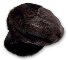 Load image into Gallery viewer, 602-83/02, Hat - Mink - Accesories - Scan Black (Hue) | STAMPE PELS