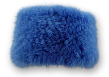 Load image into Gallery viewer, Headband - Mink Knitted - Accesories - Light Blue | STAMPE PELS