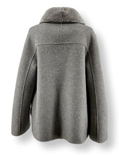 Load image into Gallery viewer, Chambery, 65 cm. - Collar - Double Face Wool - Women - Light Grey | STAMPE PELS