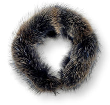 Load image into Gallery viewer, LV Collar - Finn Racoon - Accesories - Nature | STAMPE PELS