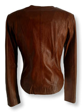 Load image into Gallery viewer, P 14-18 - Lamb Glove Leather - Women - Cognac | STAMPE PELS