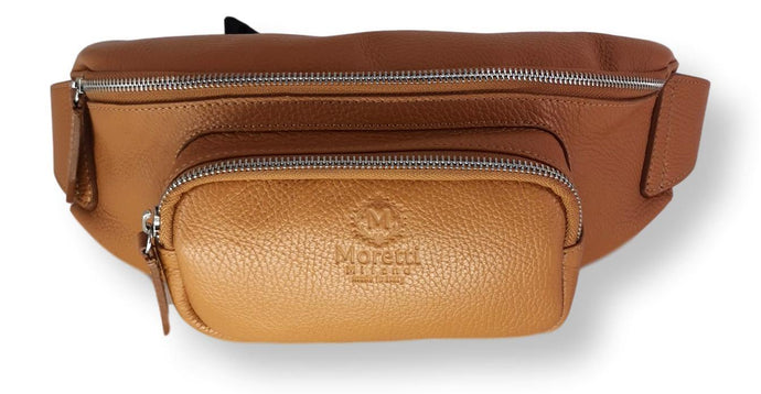 Moretti 14463 - Leather - Accesories - Cognac | STAMPE PELS