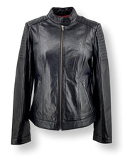Load image into Gallery viewer, Lise - Lamb Aldo Leather - Women - Black | STAMPE PELS