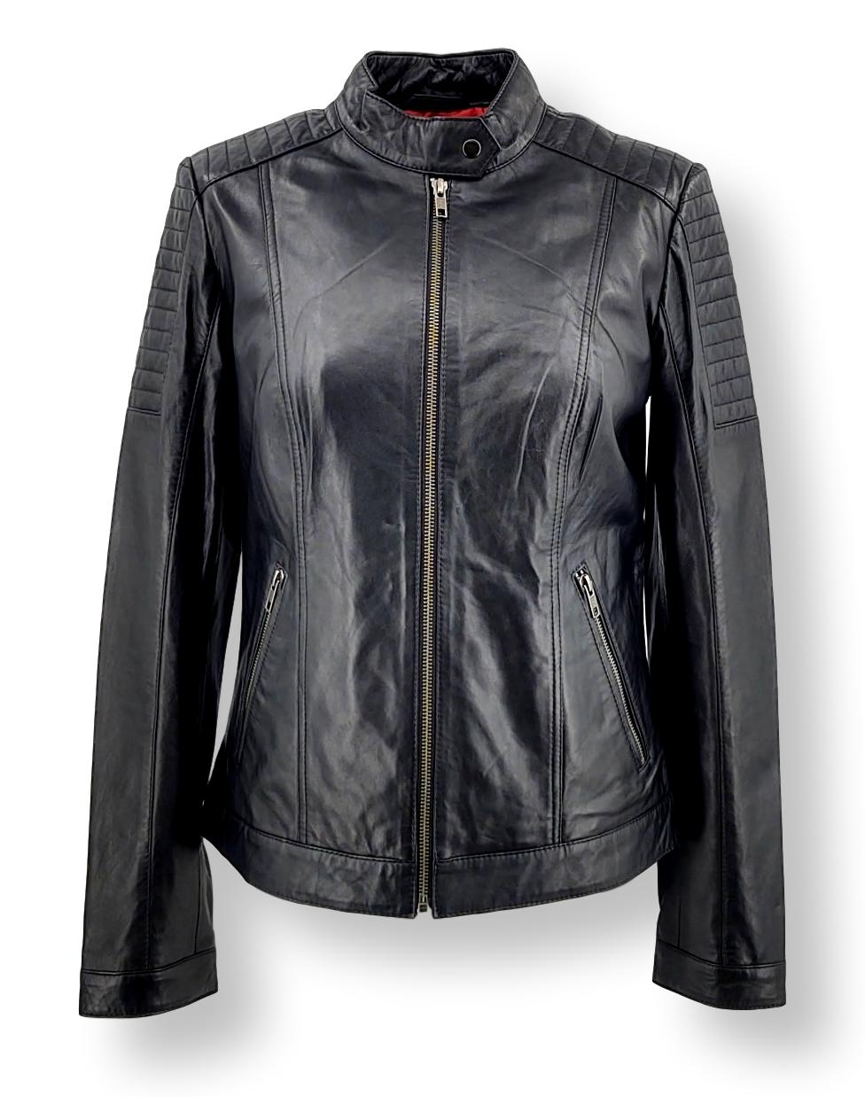 Lise - Lamb Aldo Leather - Women - Black | STAMPE PELS