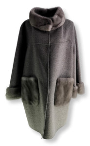 WHL9297 - Wool - Women - Grey | STAMPE PELS