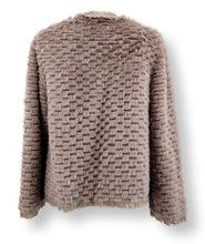 Load image into Gallery viewer, Colmar, 57 cm. - Collar - Mink & Rex & Wool - Women - Topo