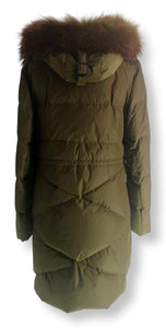Amelia - Down - Down - Women - Olive Green