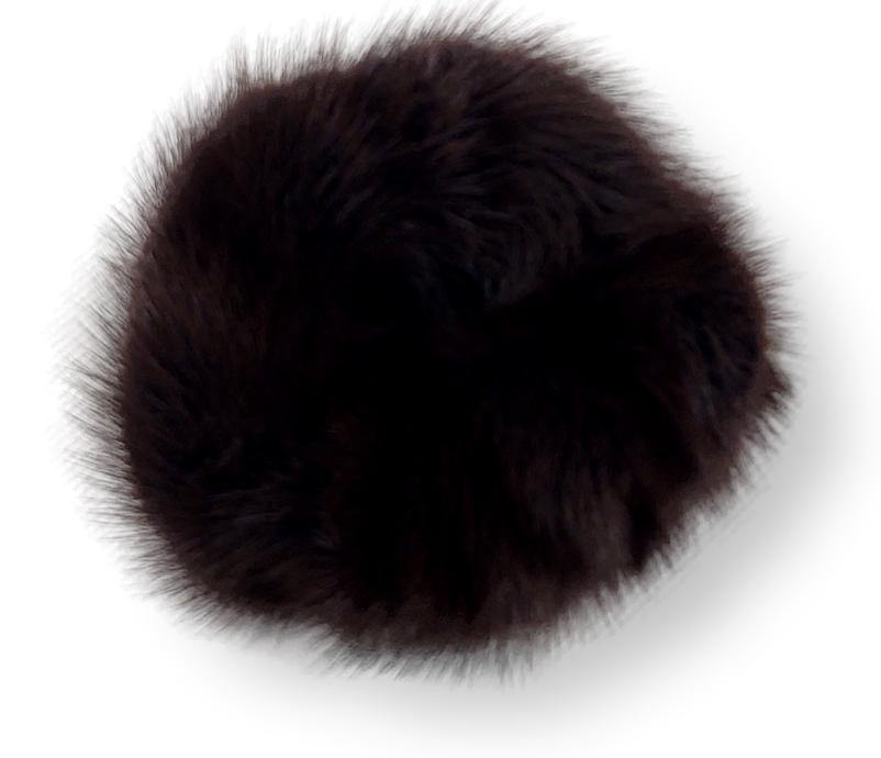 Hair Tie - Mink - Accesories - Brown