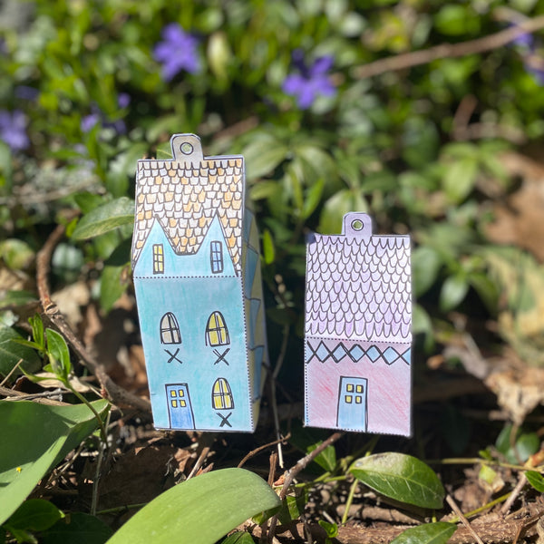 Taproot at Home :: Tiny Paper Houses