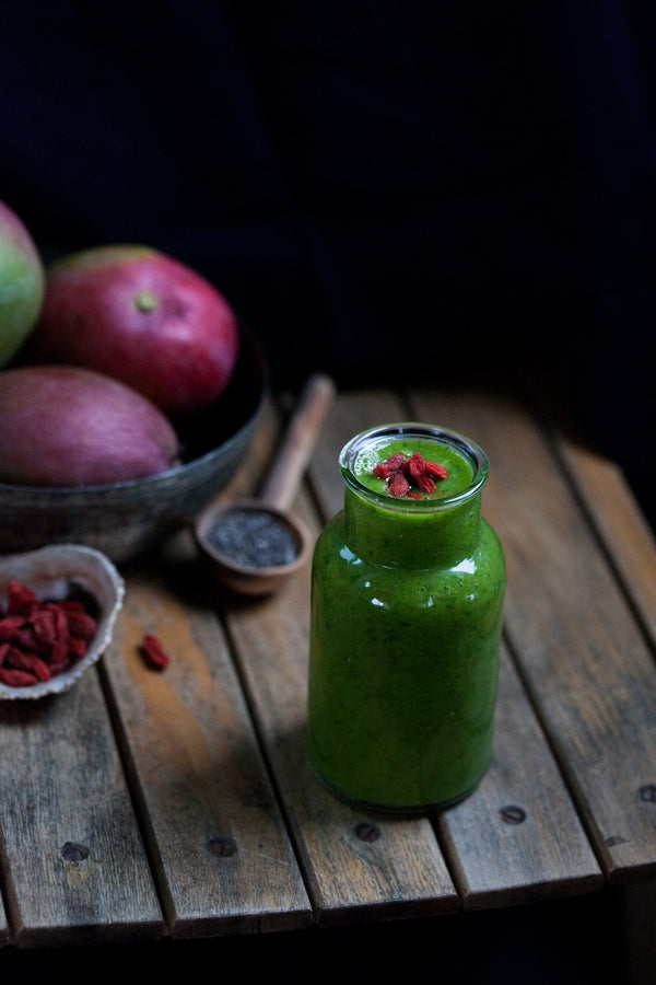 Taproot at Home :: Kid-Friendly Green Smoothie