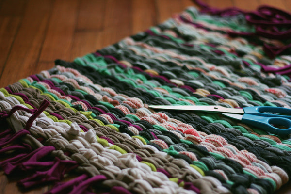 Taproot at Home :: T-Shirt Rag Rugs