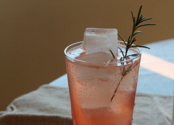 Taproot at Home :: Pink Grapefruit Rosemary Fizz