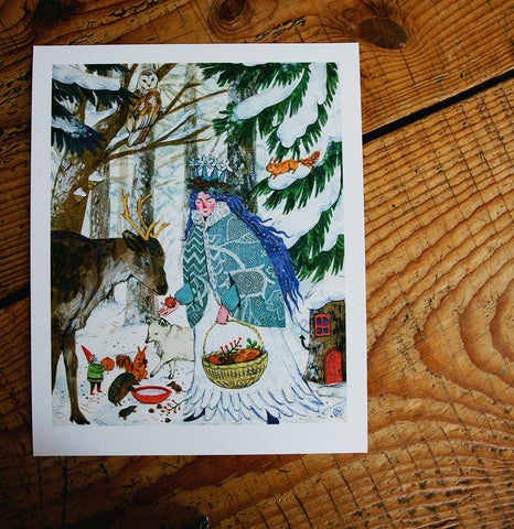 Lady Winter - Print