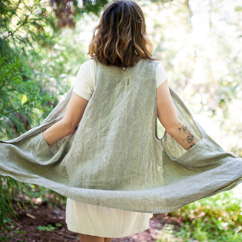 Downloadable Sewing Pattern: Forager Vest