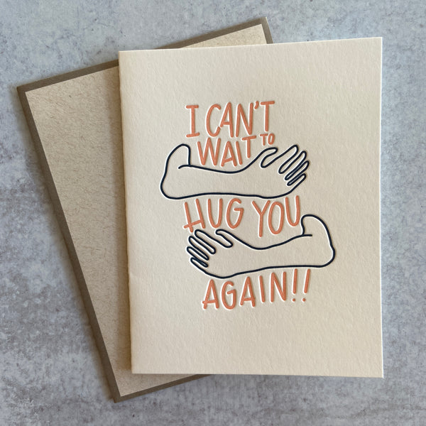 Hug You Card